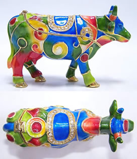 CowParade Jewel Boxes