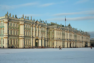 The Winter Palace and the Hermitage Museum, St. Petersburg, Russia